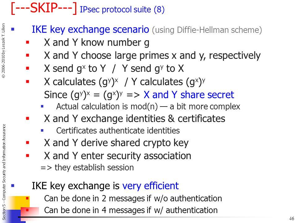 [---SKIP---] IPsec protocol suite (8)